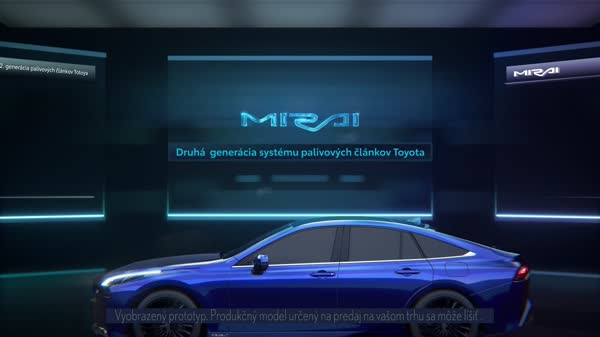 FBV Detail 2nd Generation Toyota Fuel Cell System Global MIRAI PV