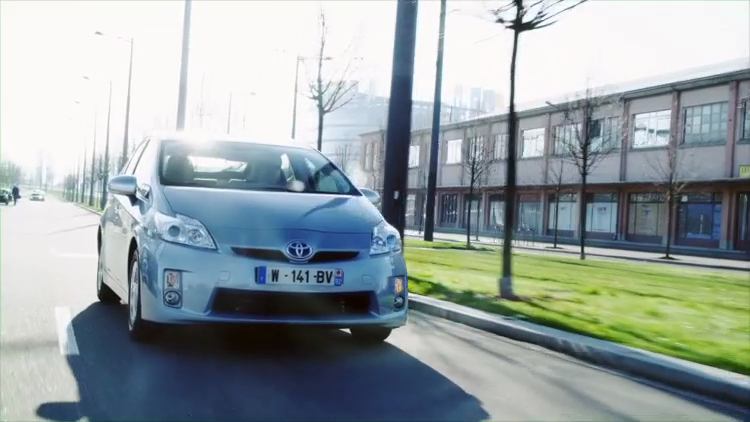 Prius Plug-in Strasbourg livery